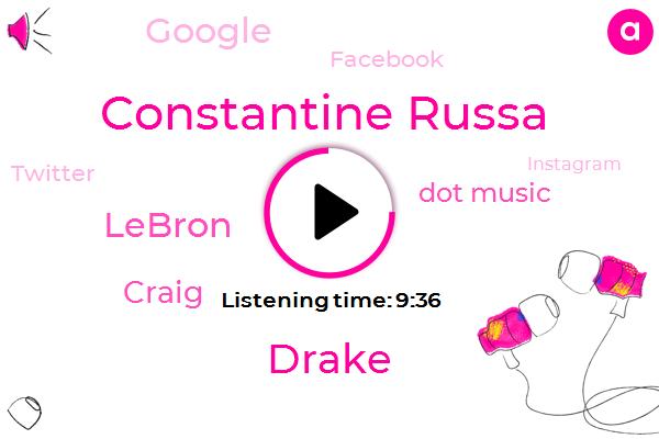 Dot Music,Google,Founder And Ceo,Constantine Russa,Drake,Official,Glastonbury,Los Angeles,Facebook,Twitter,Instagram,Lebron,Craig,Amazon,Bing