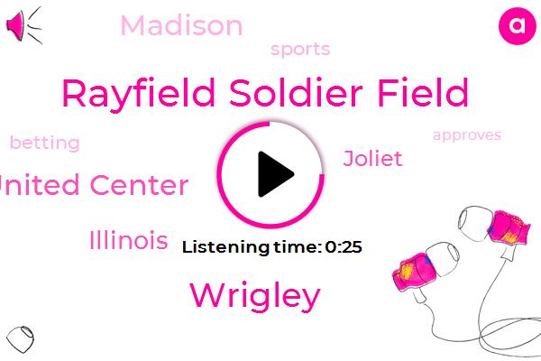 Rayfield Soldier Field,Illinois,Wrigley,Joliet,Madison,United Center