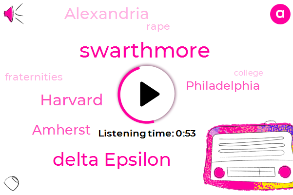 Listen: Swarthmore College will no longer allow fraternities and sororities