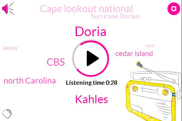 Doria,North Carolina,Cedar Island,CBS,Cape Lookout National,Hurricane Dorian,Kahles,Three Cal