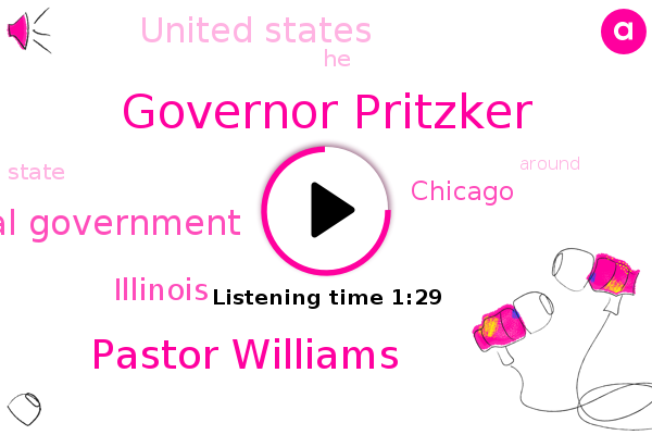 Governor Pritzker,Pastor Williams,Federal Government,Illinois,Chicago,United States
