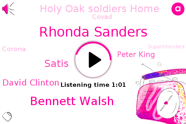 Florida,Rhonda Sanders,Holy Oak Soldiers Home,South Florida,Bennett Walsh,Satis,Covad,Corona,David Clinton,Superintendent,CBS,Peter King,Medical Director,Orlando,Minnesota