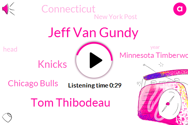 Knicks,Jeff Van Gundy,Tom Thibodeau,New York Post,Chicago Bulls,Minnesota Timberwolves,Connecticut