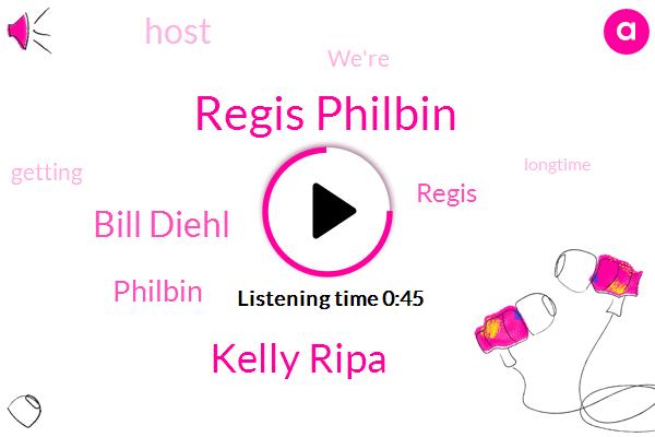 Regis Philbin,ABC,Kelly Ripa,Bill Diehl