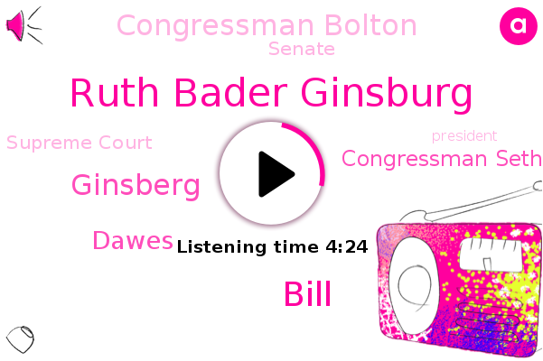 Listen: Ginsburg's Last Wish Was To 'Not Be Replaced Until a New President Is Installed'