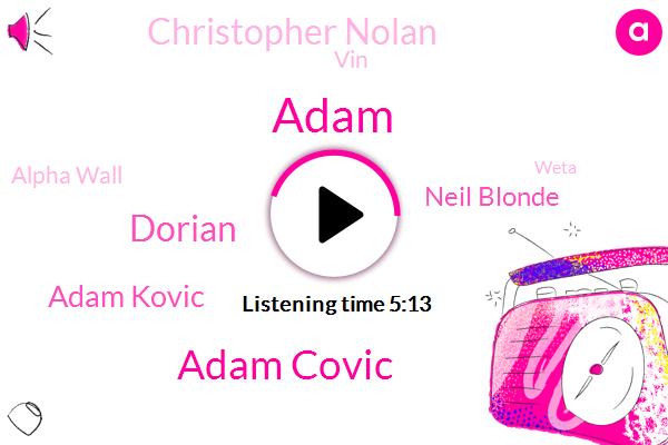 Official,Adam Covic,Dorian,Adam Kovic,Alpha Wall,Weta,Neil Blonde,New Zealand,Christopher Nolan,Adam,VIN