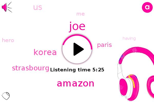 Korea,Strasbourg,Paris,JOE,United States,Amazon