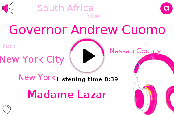 Listen: South Africa Covid Variant Emerges in New York