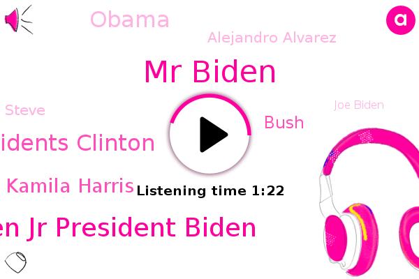 Mr Biden,Joseph R. Biden Jr President Biden,Presidents Clinton,Arlington National Cemetery,Vice President Kamila Harris,U.,White House,Bush,Barack Obama,Cbs News,Alejandro Alvarez,Steve,Washington,Joe Biden