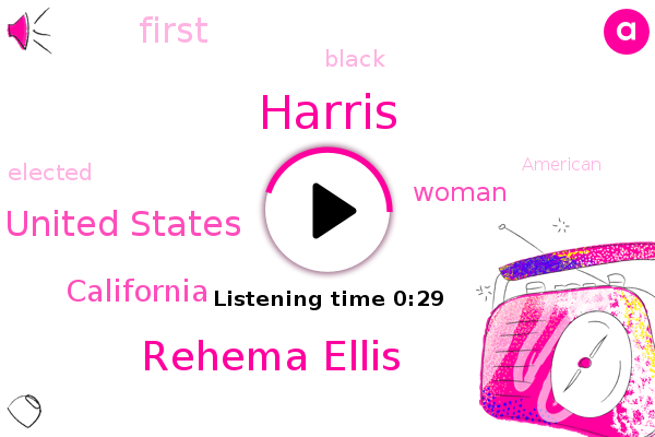 Rehema Ellis,Harris,United States,California