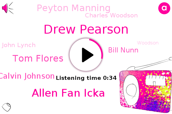 Drew Pearson,Pro Football Hall Of Fame,Allen Fan Icka,Tom Flores,Calvin Johnson,Bill Nunn,Peyton Manning,Charles Woodson,John Lynch,Football,Woodson,Manning,Johnson,Canton,Ohio
