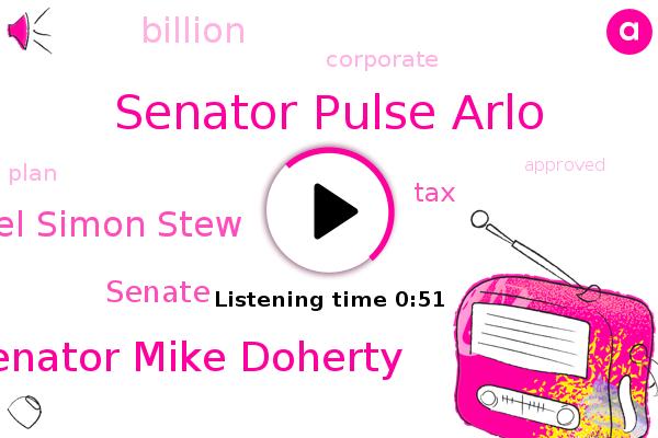 Senator Pulse Arlo,Senator Mike Doherty,Senate,Michel Simon Stew,Jersey