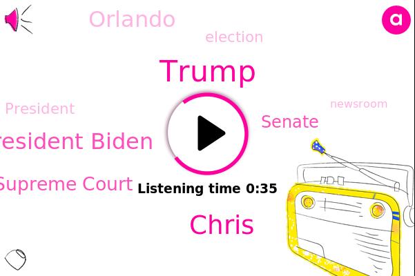 Donald Trump,Chris,U. S. Supreme Court,Orlando,President Biden,Senate
