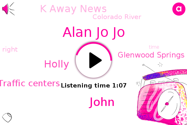 Alan Jo Jo,K Away News,Fred Sports Traffic Centers,John,Holly,Glenwood Springs,Colorado River,FOX