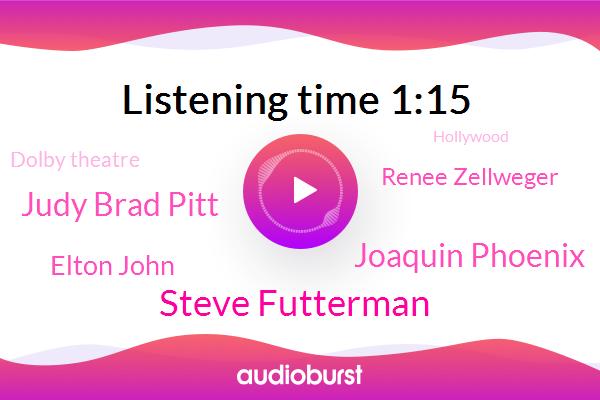 Steve Futterman,Academy Awards,Hollywood,Oscar,Dolby Theatre,Joaquin Phoenix,Judy Brad Pitt,Elton John,Paris,Renee Zellweger