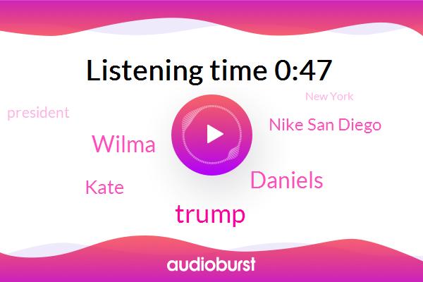 Daniels,Donald Trump,New York,Director,Wilma,America,San Francisco,Atlanta,Kate,President Trump,Nike San Diego,China,Los Angeles,BC