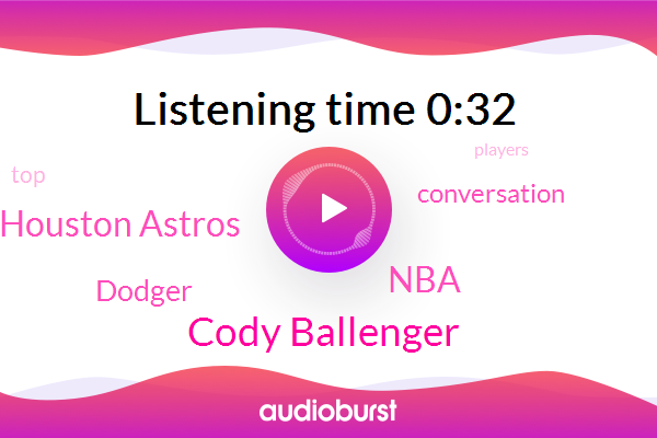 Houston Astros,Cody Ballenger,NBA
