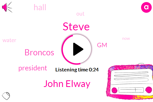 Steve,President Trump,John Elway,Broncos,GM
