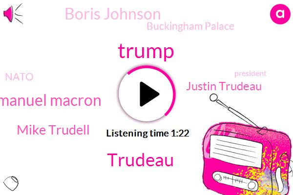 Donald Trump,Prime Minister,Emmanuel Macron,Buckingham Palace,Mike Trudell,Trudeau,Canada,Germany,President Trump,Justin Trudeau,Boris Johnson,Nato,London,Two Percent