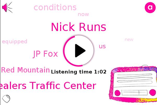 Nick Runs,Valley Chevy Dealers Traffic Center,Jp Fox,Red Mountain