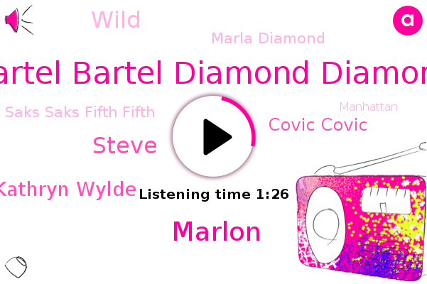 Wcbs,Bartel Bartel Diamond Diamond,Saks Saks Fifth Fifth,Marlon,Steve,Kathryn Wylde,Manhattan,New York City,Covic Covic,Wild,New York,Marla Diamond,Wcbs News