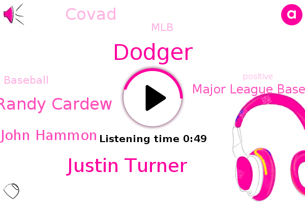 Justin Turner,Major League Baseball,Baseball,Randy Cardew,Covad,John Hammon,Dodger,MLB