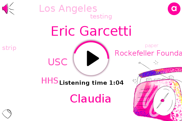 Eric Garcetti,Los Angeles,HHS,Rockefeller Foundation,Claudia,USC