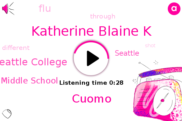 FLU,North Seattle College,Whitman Middle School,Katherine Blaine K,Seattle,Cuomo