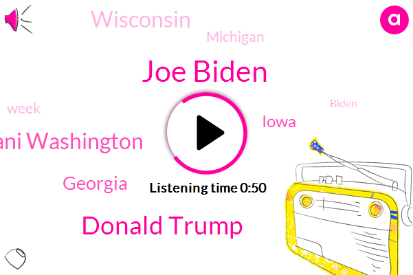 Joe Biden,Donald Trump,Georgia,Iowa,Wisconsin,Michigan,Ani Washington