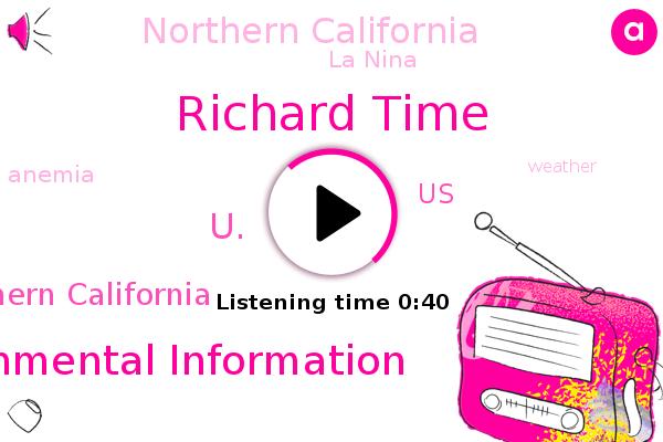 Richard Time,La Nina,National Centers For Environmental Information,U.,Anemia,Southern California,United States,Northern California