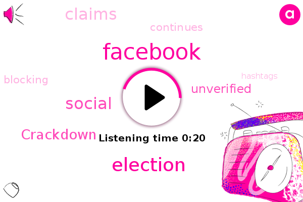 Listen: Unverified Election Claims Are Running Wild On Social Media
