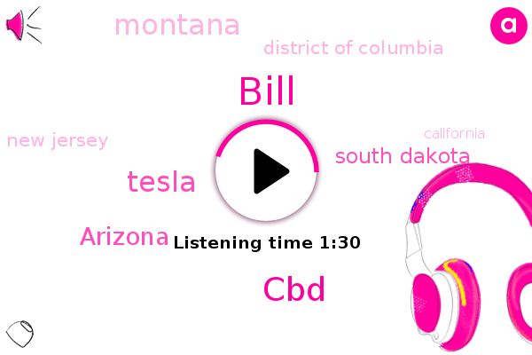 South Dakota,Montana,District Of Columbia,New Jersey,Arizona,CBD,California,Bill,Tesla,Los Angeles,Himalayan