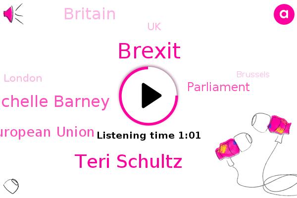 Brexit,Teri Schultz,Michelle Barney,European Union,Britain,UK,London,Brussels,Parliament,NPR