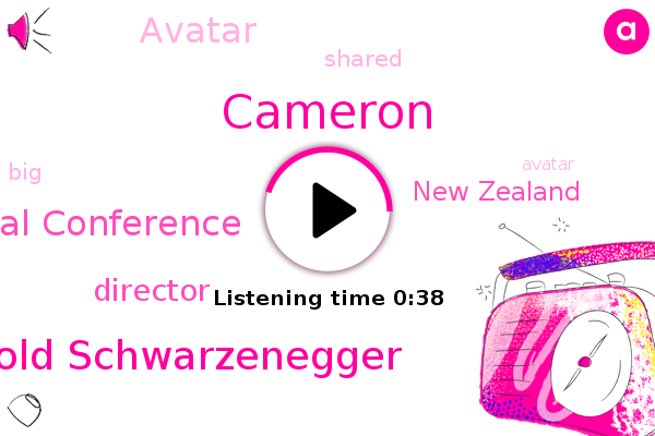 Cameron,Austrian World Summit Environmental Conference,Arnold Schwarzenegger,New Zealand,Director