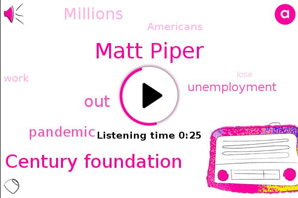 Century Foundation,Matt Piper