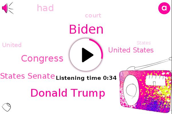 United States Senate,Biden,United States,Donald Trump,Congress