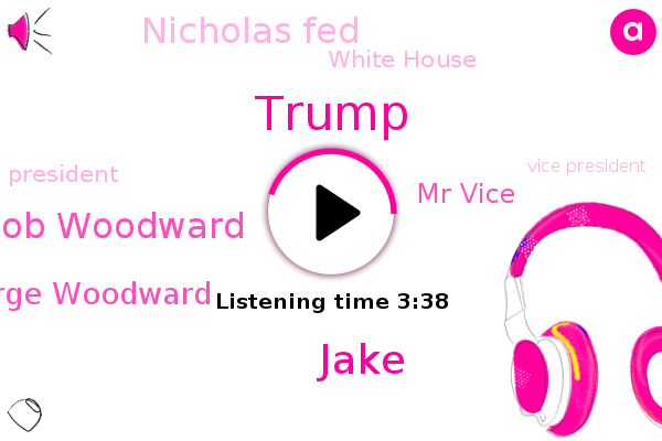 Vice President,Donald Trump,Bob Woodward,President Trump,George Woodward,Mr Vice,Nicholas Fed,Philadelphia,White House,USA,China,Jake