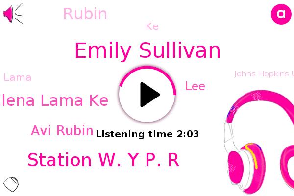 Emily Sullivan,Station W. Y P. R,Elena Lama Ke,Baltimore County,Avi Rubin,LEE,Johns Hopkins University,Rubin,Microsoft,KE,Lama,Baltimore County School,FBI