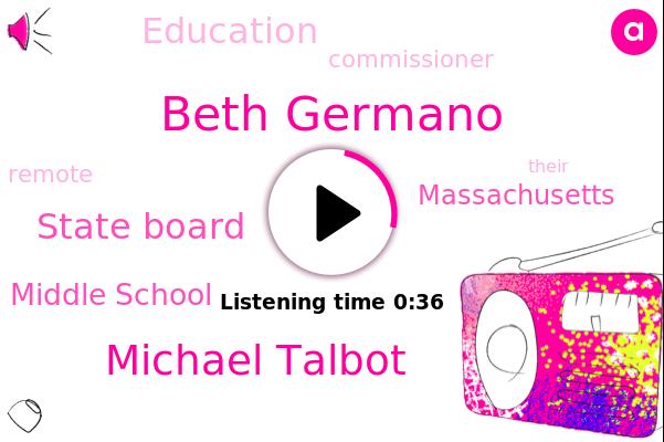 WBZ,Beth Germano,State Board,Chelsea Middle School,Michael Talbot,Massachusetts