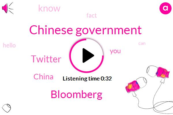 Chinese Government,Bloomberg,China,Twitter