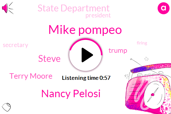 President Trump,Mike Pompeo,Nancy Pelosi,State Department,Steve,Secretary,Terry Moore,Donald Trump