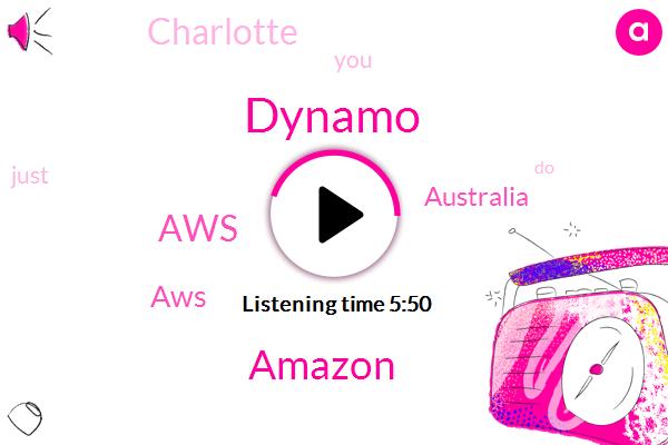 Dynamo,Amazon,Australia,AWS,Charlotte