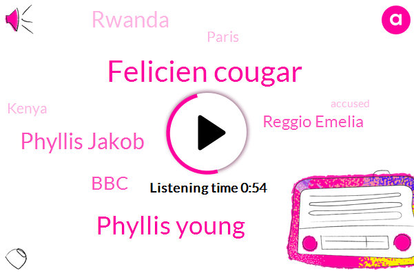 Rwanda,Felicien Cougar,BBC,Paris,Kenya,Phyllis Young,Reggio Emelia,Phyllis Jakob