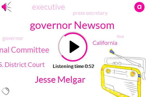 Listen: Republicans sue California governor over vote-by-mail order