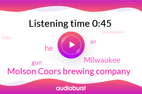 Listen: milwaukee: Molson Coors employee shot and killed five co-workers before turning the gun on himself, police say