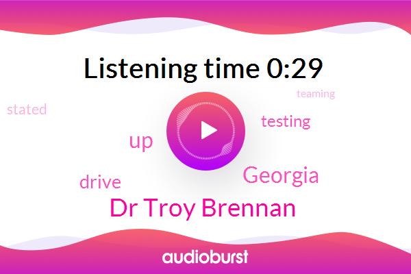 Georgia,Dr Troy Brennan