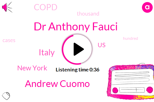 Dr Anthony Fauci,Andrew Cuomo,Italy,New York,United States,Copd