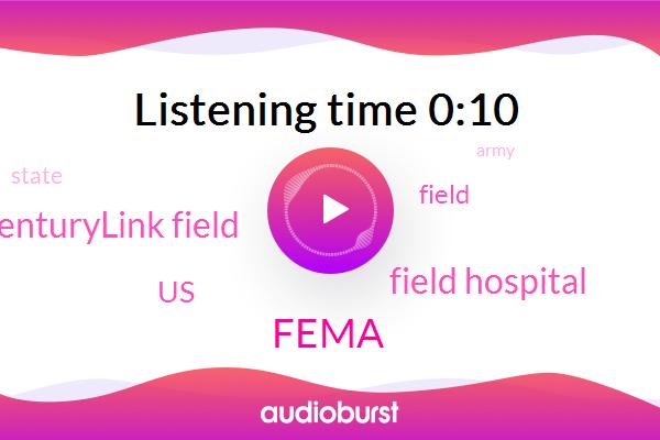 Field Hospital,Centurylink Field,Fema,United States
