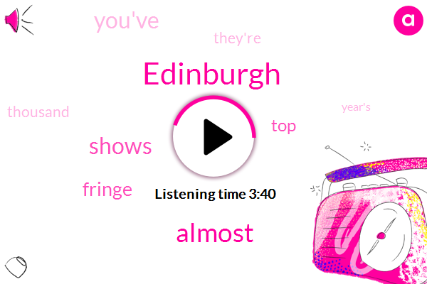 Listen: Why body image is a weighty issue at the Edinburgh Fringe Festival