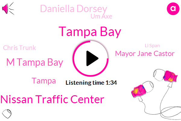 Tampa Bay,Maas Nissan Traffic Center,M Tampa Bay,Tampa,Mayor Jane Castor,Daniella Dorsey,Um Axe,Chris Trunk,Li Span,Jack Aaron,St Petersburg,Richie,Natalie,Newport,Katie